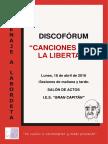 Díptico_Canciones Para La Libertad