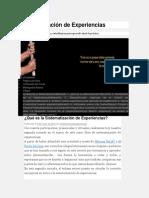 ¿Qué Es La Sistematización de Experiencias_ _ Sistematización de Experiencias
