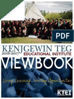 KTEI Viewbook for 2016/2017