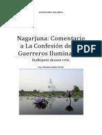 Nagarjuna Comentario a La Confesión de Los Guerreros Iluminados.