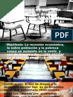 Desercion Escolar y Drogas San Juan