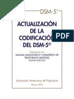 Spanish DSM-5 Coding Update Final