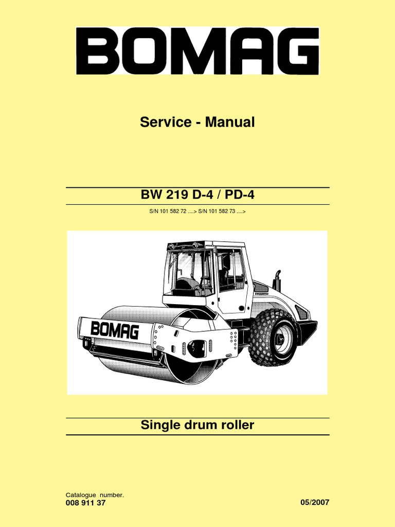 shop bw219d 4 bomag screw nut hardware rh es scribd com bomag bmp 8500 wiring  diagram bomag 80 wiring diagram