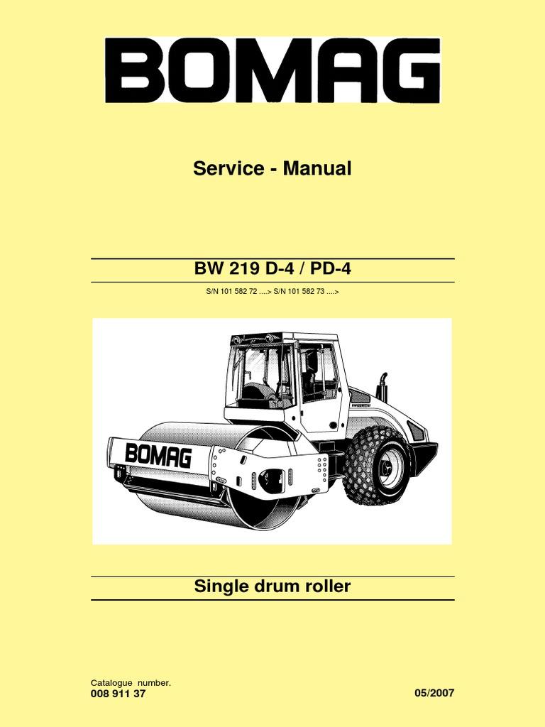 shop bw219d 4 bomag screw nut hardware rh es scribd com bomag bmp 8500 wiring  diagram bomag 80 wiring diagram