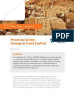 Preserving Cultural Heritage in Armed Conflicts