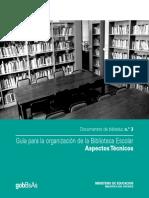 Guía para la organización de la biblioteca Escolar