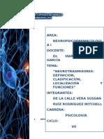 Neurotransmisores - Neuropsicologia
