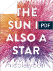 The Sun is Also a Star by Nicola Yoon (EXCERPT)