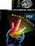 #BodyBoss. Care Your Mental Health