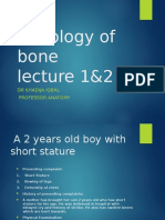 Histology of Bone by dr.Danish :D
