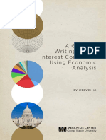 A Guide to Writing Public Interest Comments Using Economic Analysis J Ellig