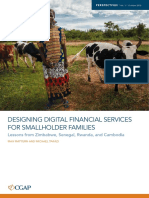 Designing Digital Financial Services for Smallholder Families