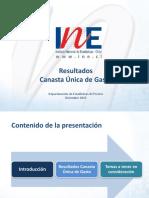 Presentación de la Canasta Única de Copiapó