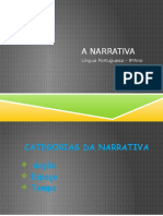 As categorias da Narrativa