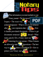 101 Useful Notary Tips