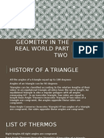 geometry in the real world part two janaii boone