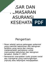 PASAR DAN PEMASARAN ASURANSI KESEHATAN.ppt