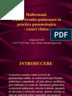 Cazuri Clinice Malformatii Traheobronhopulmonare