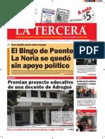 Diario La Tercera 04.04.2016
