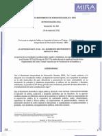Resolución 004 Política en Seguridad y Salud en el Trabajo