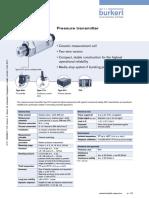 Pressure Transmitter 8314