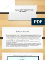 Environment Clearance Process