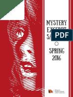 Mystery Sampler Spring 2016