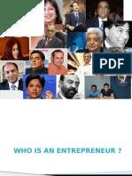 Entrepreneurship & Characteristics