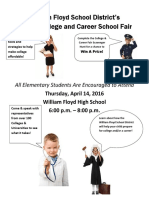 College and Career Fair Flyer 16