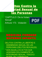 Medicina Legal Sexual y Maternoinfantil