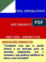 Mix Producto - 2011 Cap IV