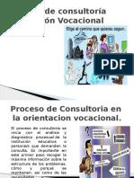 Proceso de Consultoria en La Orientacion Vocacional