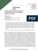 Assessing Relationship Closeness Online