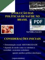 AULA 01 História Das Politicas de Saúde Do Brasil