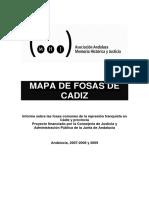 Fosas Cadiz