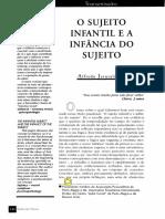 SUJEITO INFANTIL