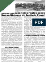 02-04-16 Capacitan a policías regios sobre Nuevo Sistema de Justicia Penal