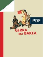 ZUMALAKARREGI MUSEOA_Gerra Eta Bakea_Unitate Didaktikoa