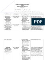 standard 6 individual technology plan