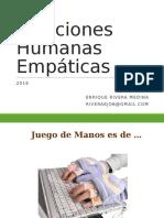 Relaciones humanas empáticas