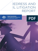 Redress and Civil Litigation Report - Australia Royal Commission