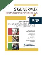 Rapport États Généraux