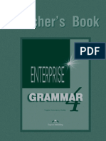 Enterprise 4 Grammar Teacher s Book