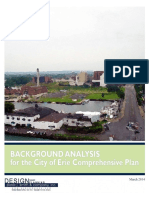 Background Analysis for City of Erie Comprehensive Plan