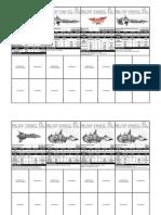 BFG - Space Marine Cards
