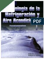 Tecnologia de La Refrigeracion y Aire Acondicionado-fundamentos Tomo 1