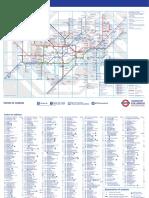 London Standard Tube Map