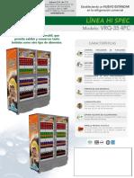 Refrigerador vrq35