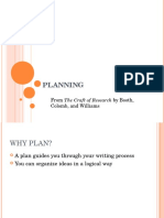 CR12 Planning