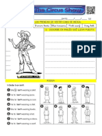 Clothes - Circus Show (Worksheet 3)